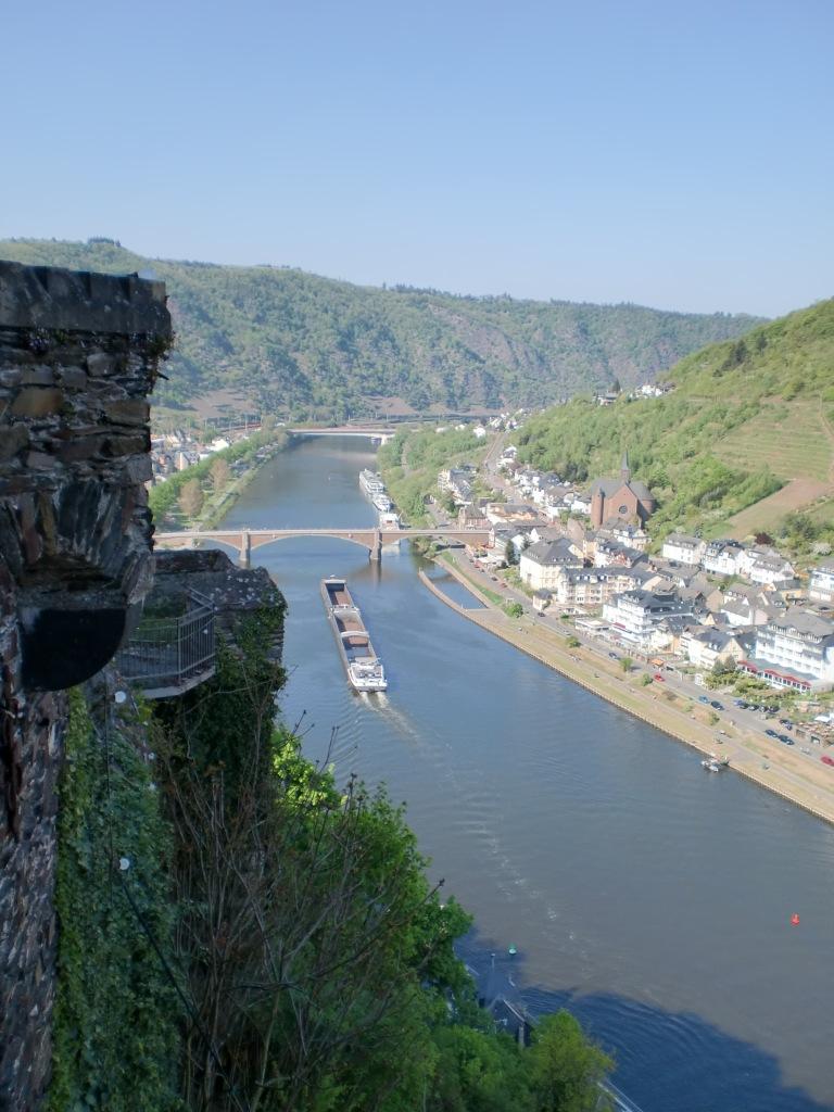 Aussicht von der Reichsburg Cochem