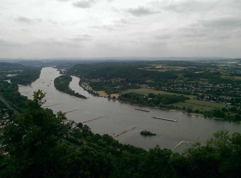 Die Burgruine auf dem Drachenfels