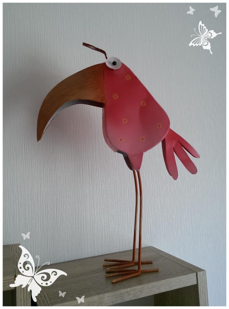 Und noch ein komischer Vogel!