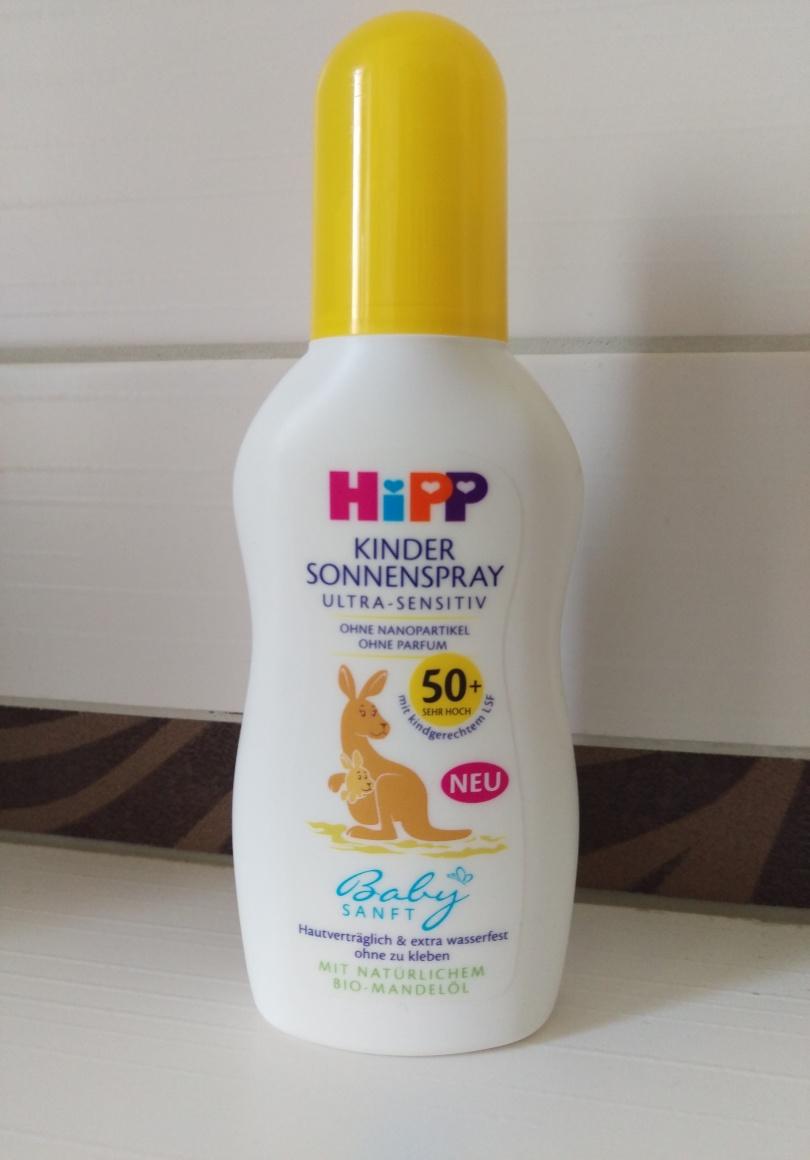 Für Euch Getestet Das Hipp Babysanft Kinder Sonnenspray Zwischen