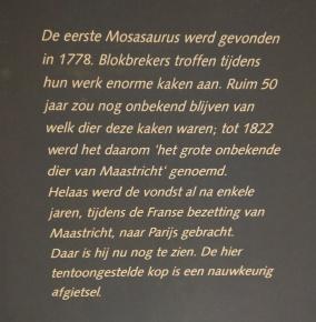 ...und Beschreibung des Historischen Fundes des Mosasaurus