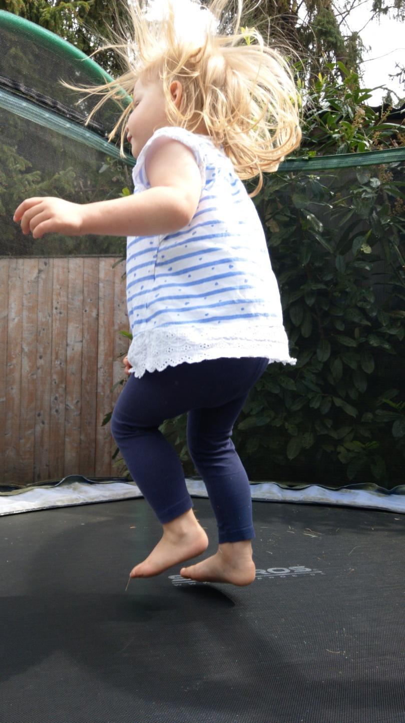 Trampolin Spaß