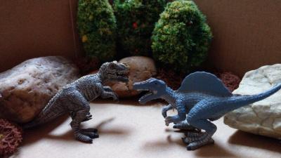 Kampf der Giganten: T-Rex vs. Spinosaurus