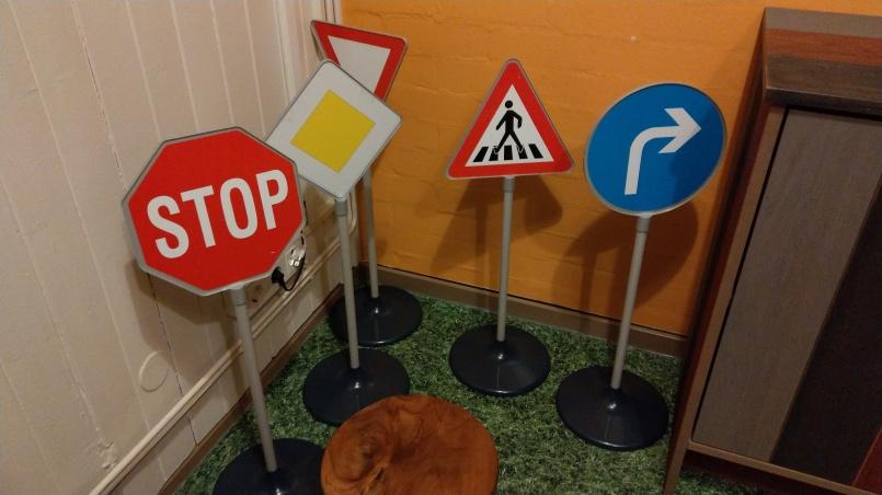 Aber immer schön an die Verkehrsregeln halten!