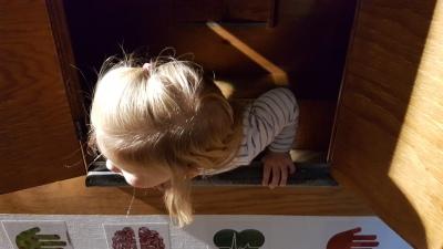 Explorado Kindermuseum Bauwagen