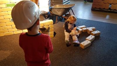 Explorado Kindermuseum Bauabteilung